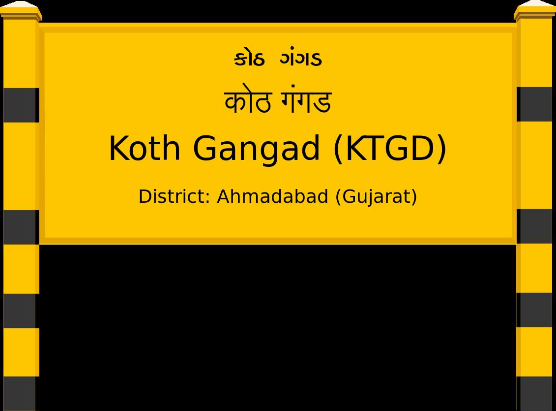 Koth Gangad (KTGD) Railway Station