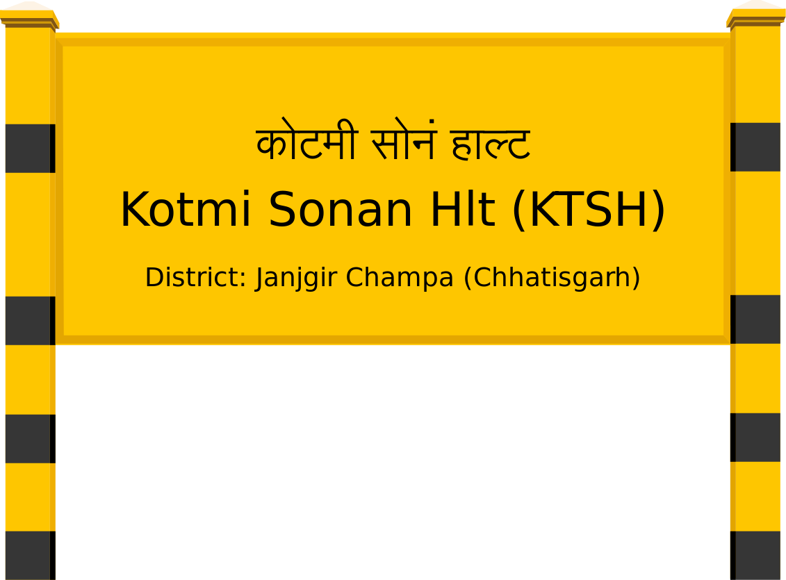 Kotmi Sonan Hlt (KTSH) Railway Station