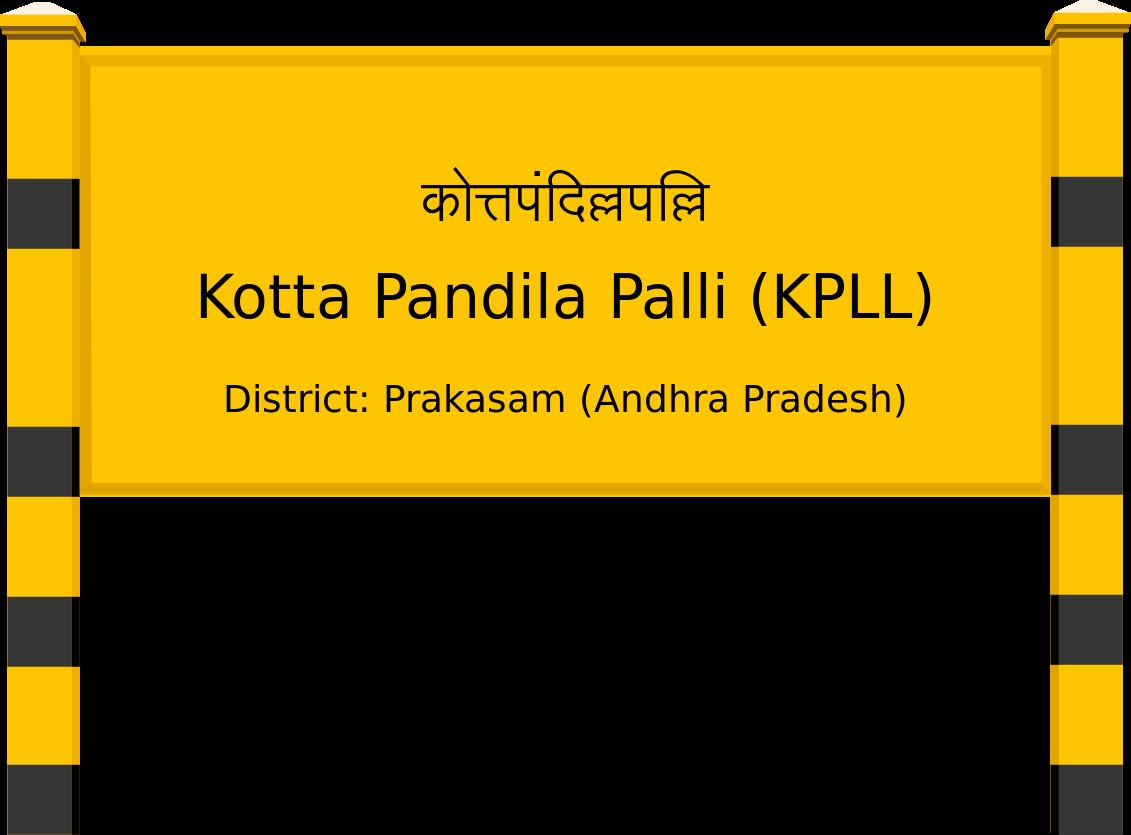 Kotta Pandila Palli (KPLL) Railway Station