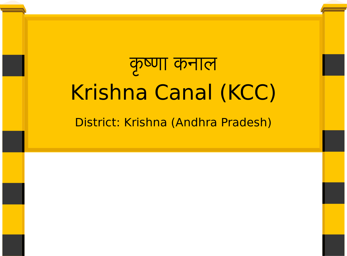 Krishna Canal (KCC) Railway Station