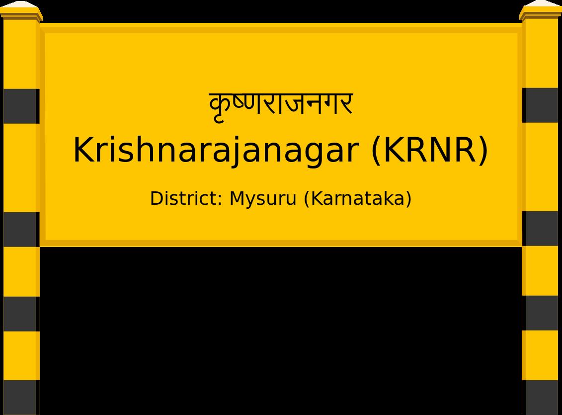 Krishnarajanagar (KRNR) Railway Station
