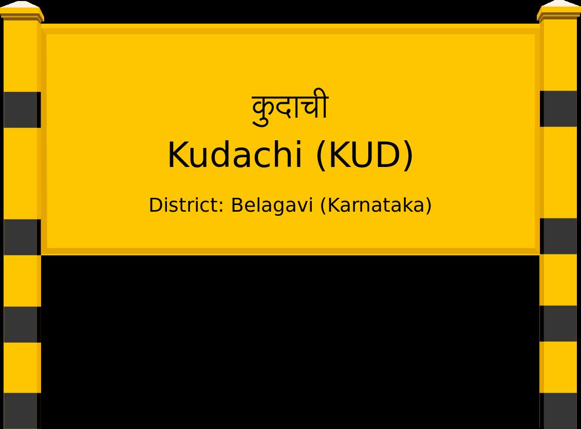 Kudachi (KUD) Railway Station