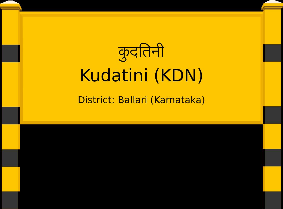 Kudatini (KDN) Railway Station