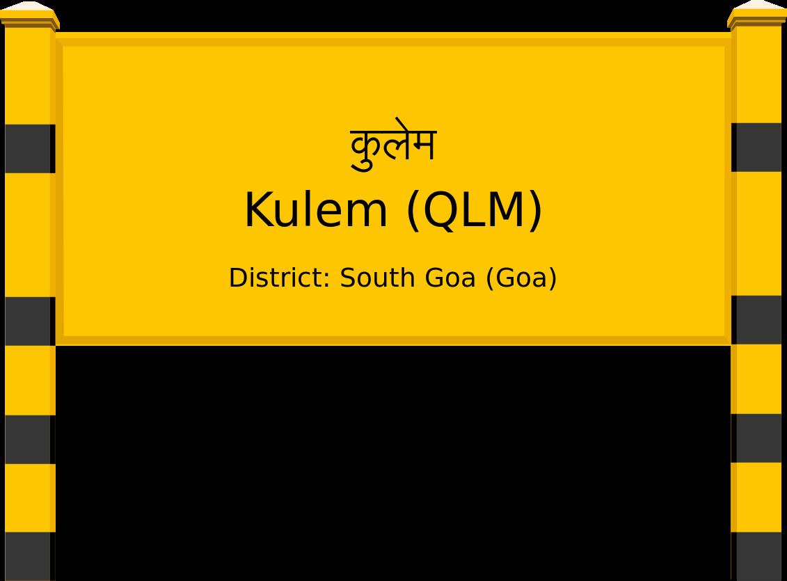 Kulem (QLM) Railway Station