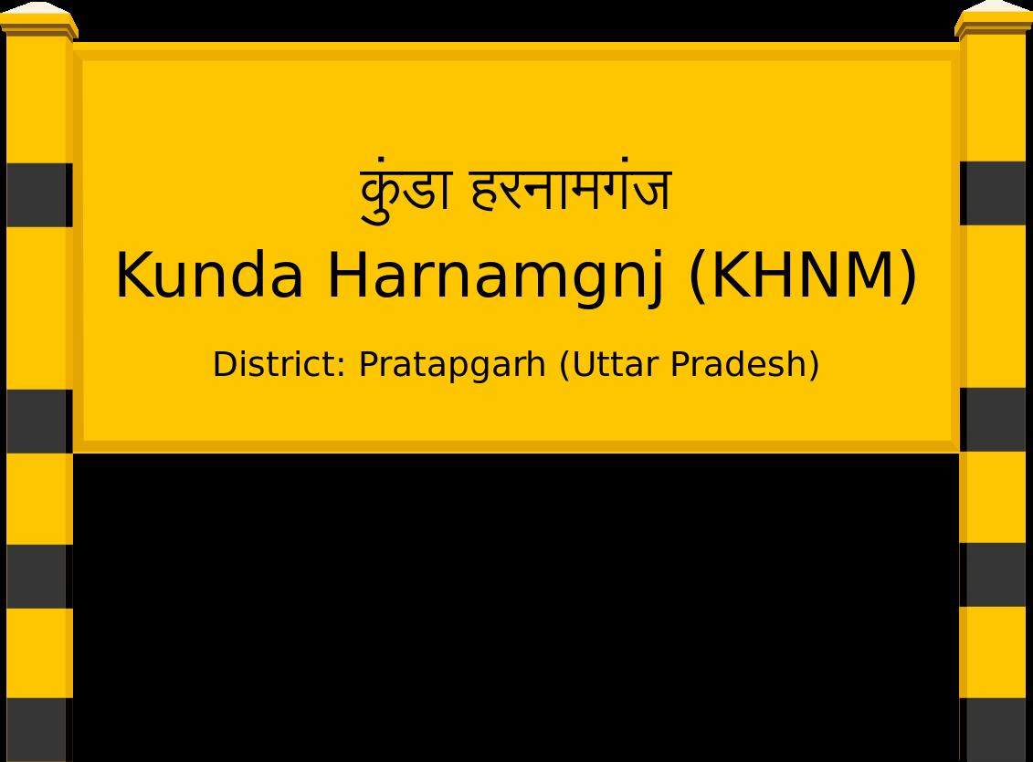 Kunda Harnamgnj (KHNM) Railway Station