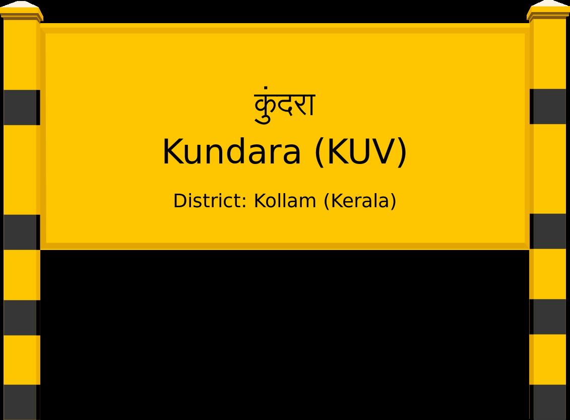 Kundara (KUV) Railway Station