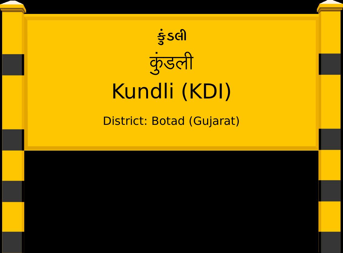 Kundli (KDI) Railway Station