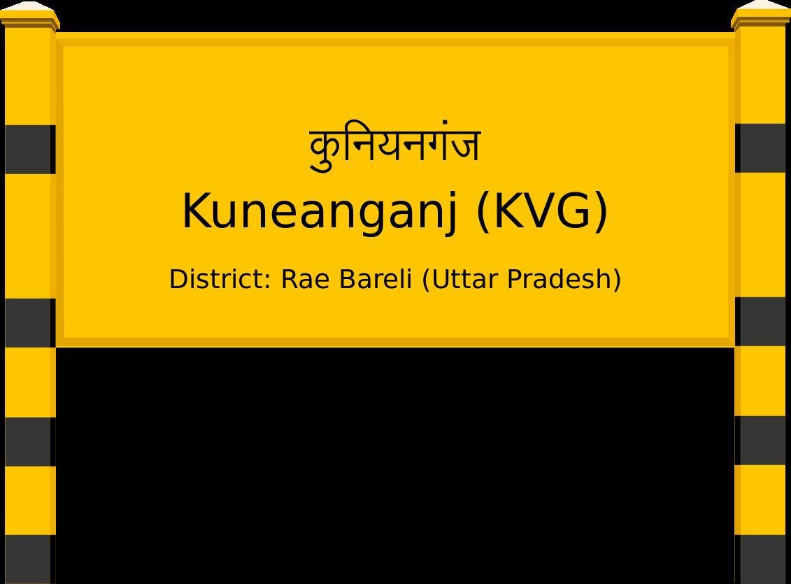 Kuneanganj (KVG) Railway Station