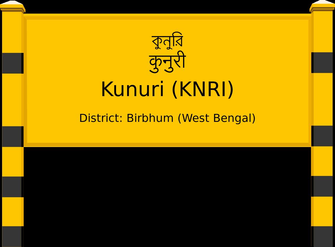Kunuri (KNRI) Railway Station