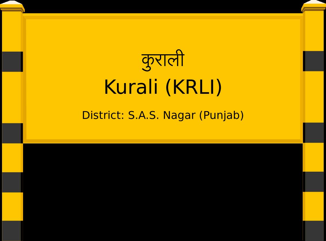 Kurali (KRLI) Railway Station