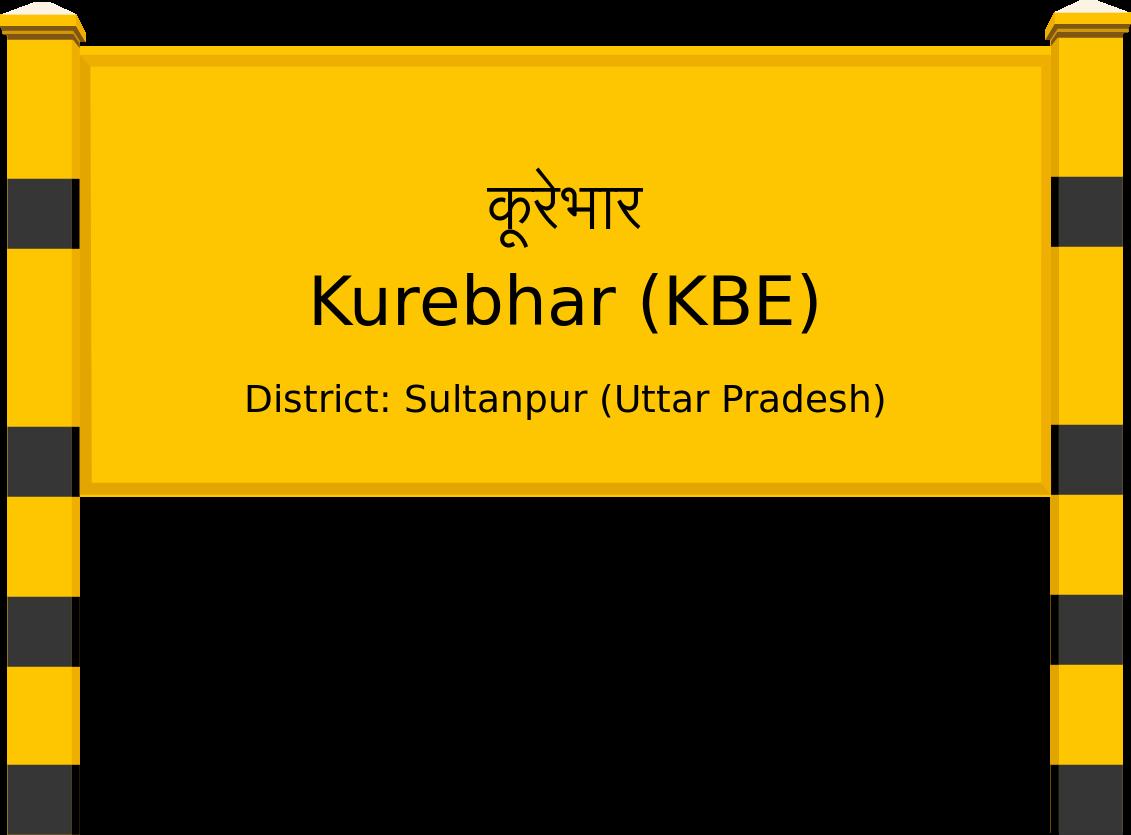 Kurebhar (KBE) Railway Station
