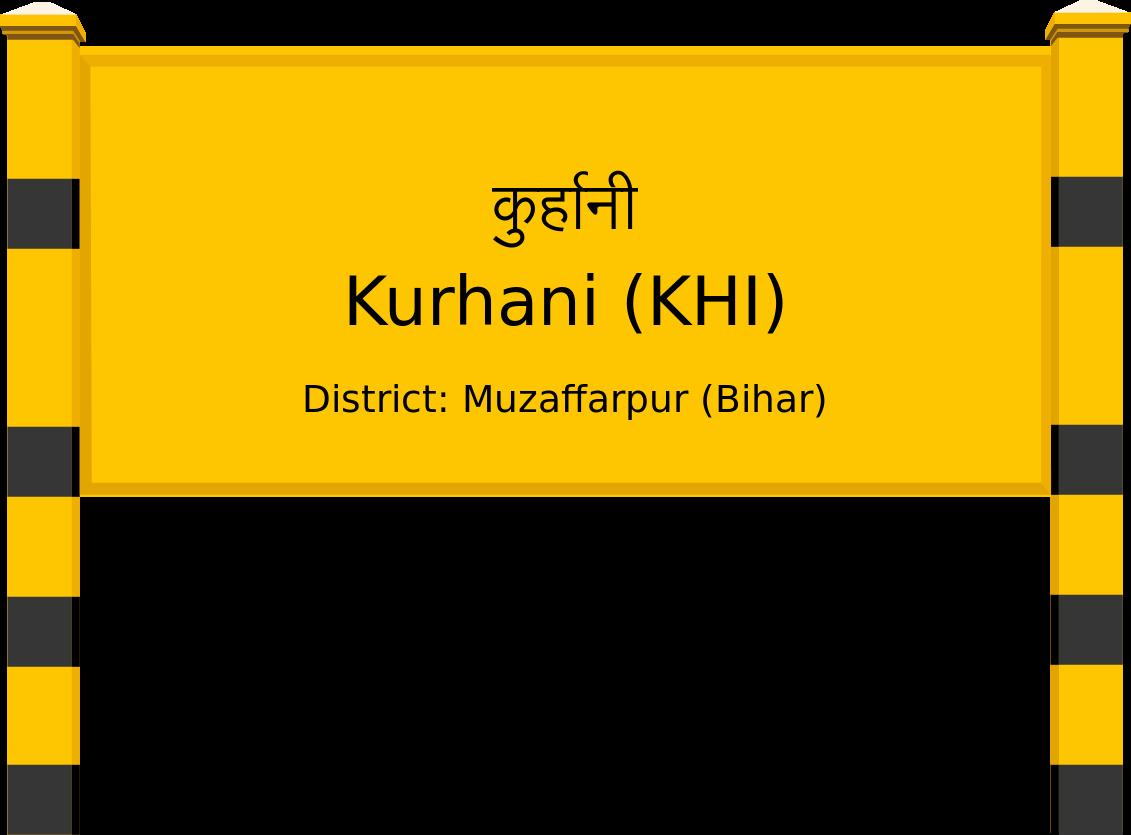 Kurhani (KHI) Railway Station