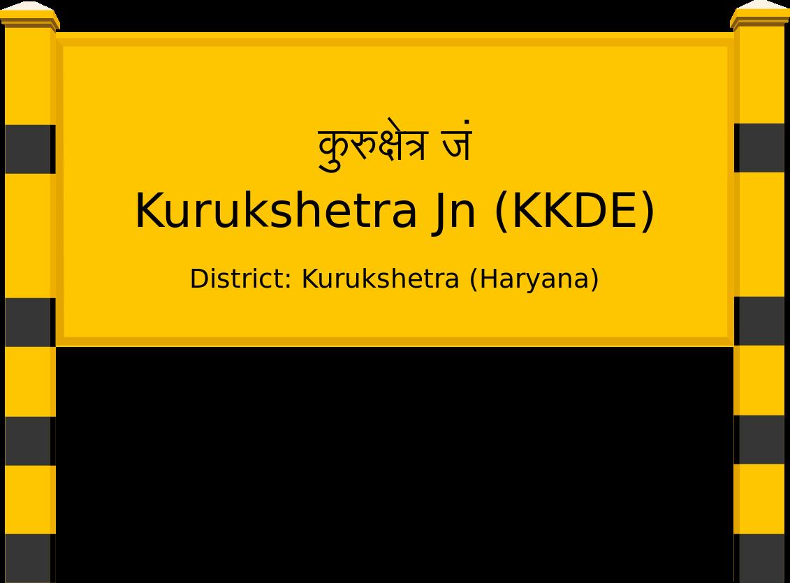 Kurukshetra Jn (KKDE) Railway Station