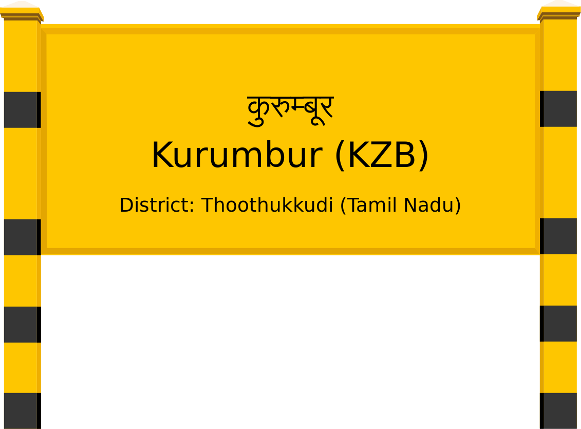 Kurumbur (KZB) Railway Station