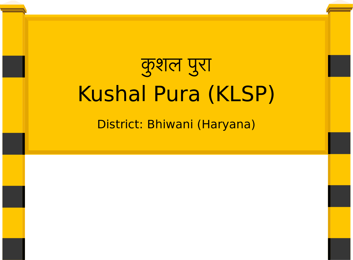 Kushal Pura (KLSP) Railway Station