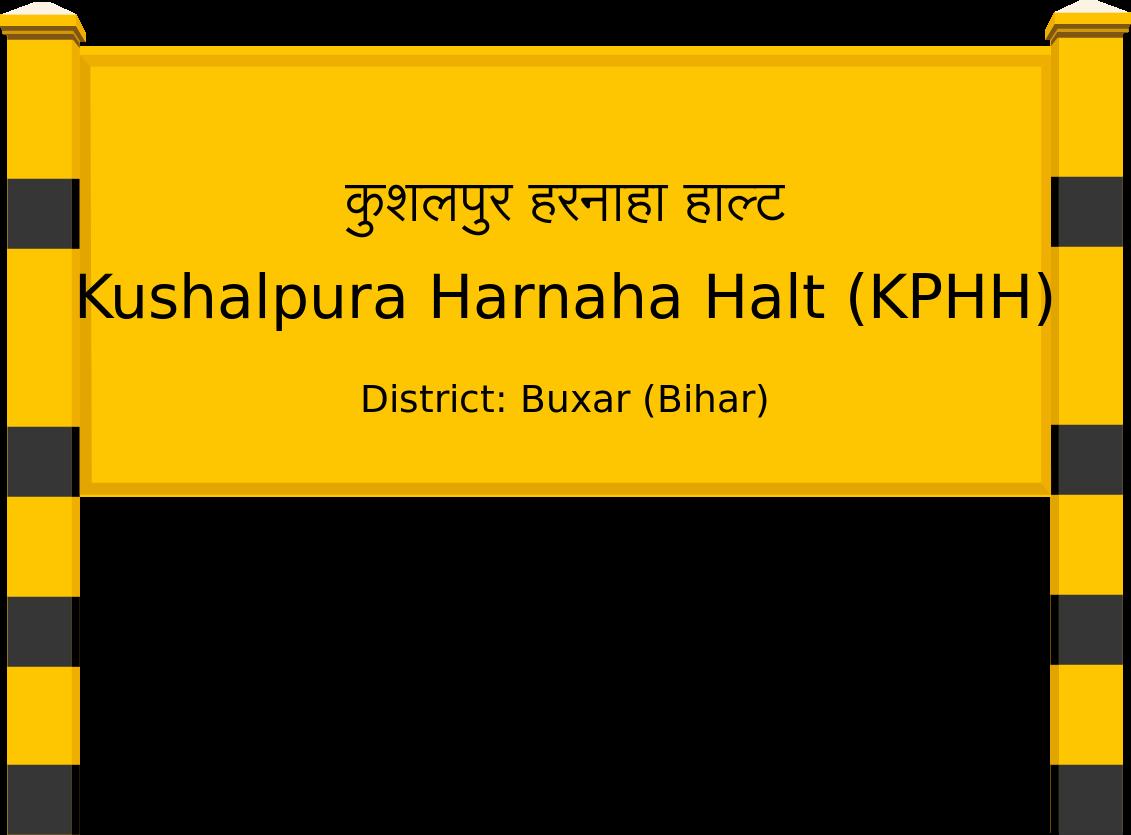 Kushalpura Harnaha Halt (KPHH) Railway Station