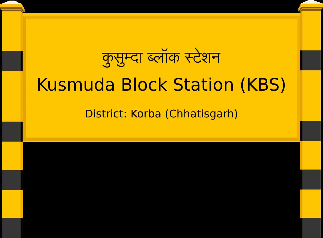 Kusmuda Block Station (KBS) Railway Station