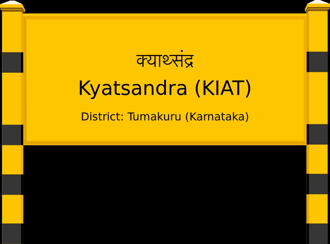 Kyatsandra (KIAT) Railway Station