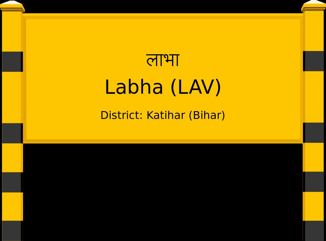 Labha (LAV) Railway Station