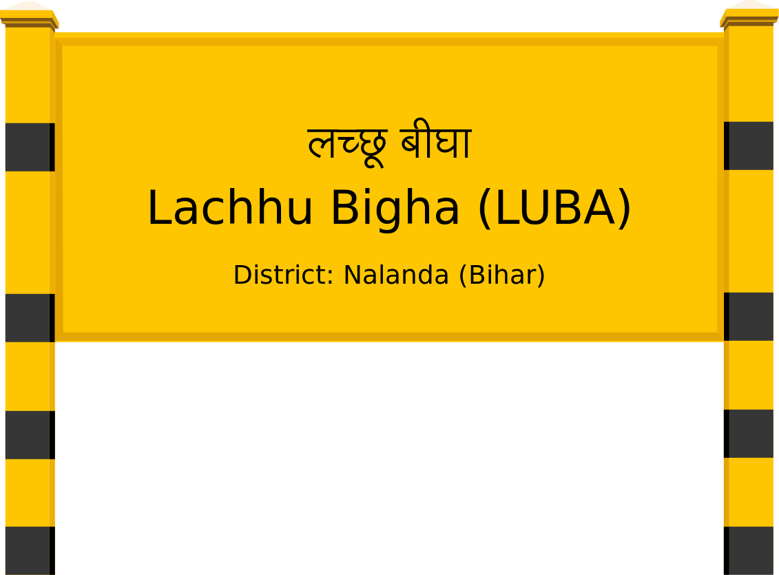 Lachhu Bigha (LUBA) Railway Station