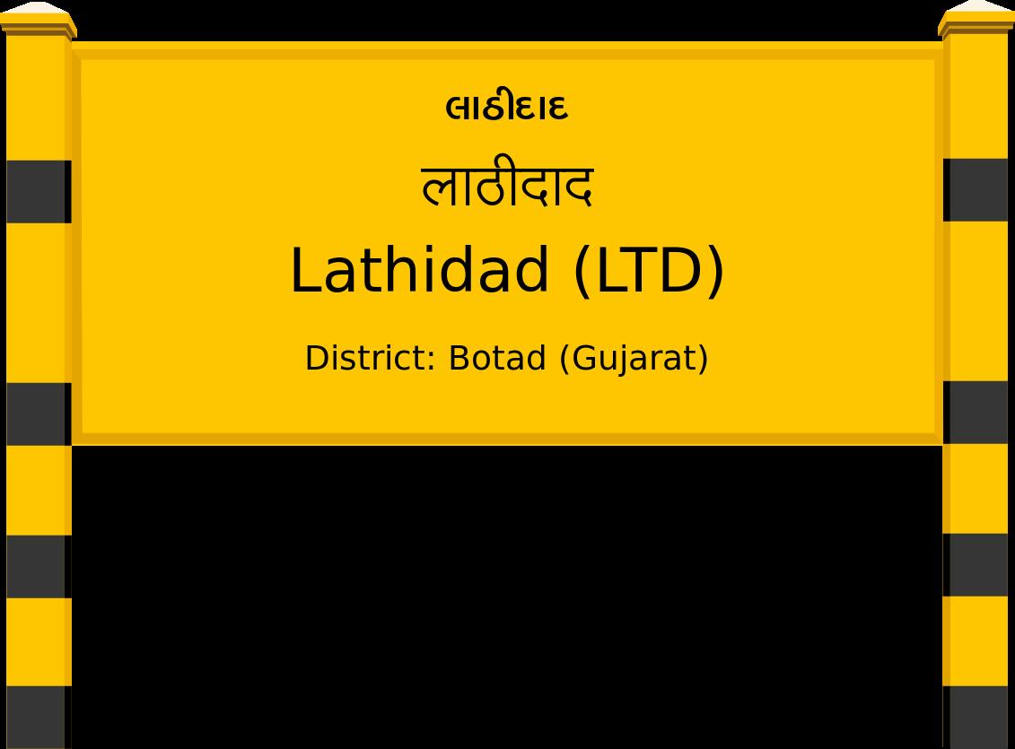 Lathidad (LTD) Railway Station