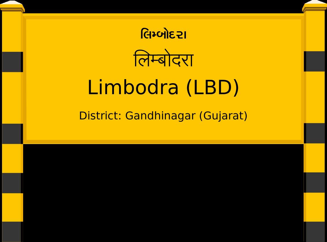 Limbodra (LBD) Railway Station