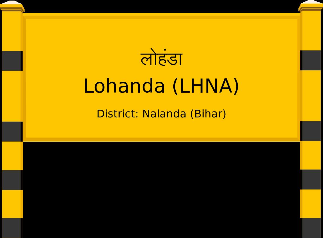Lohanda (LHNA) Railway Station