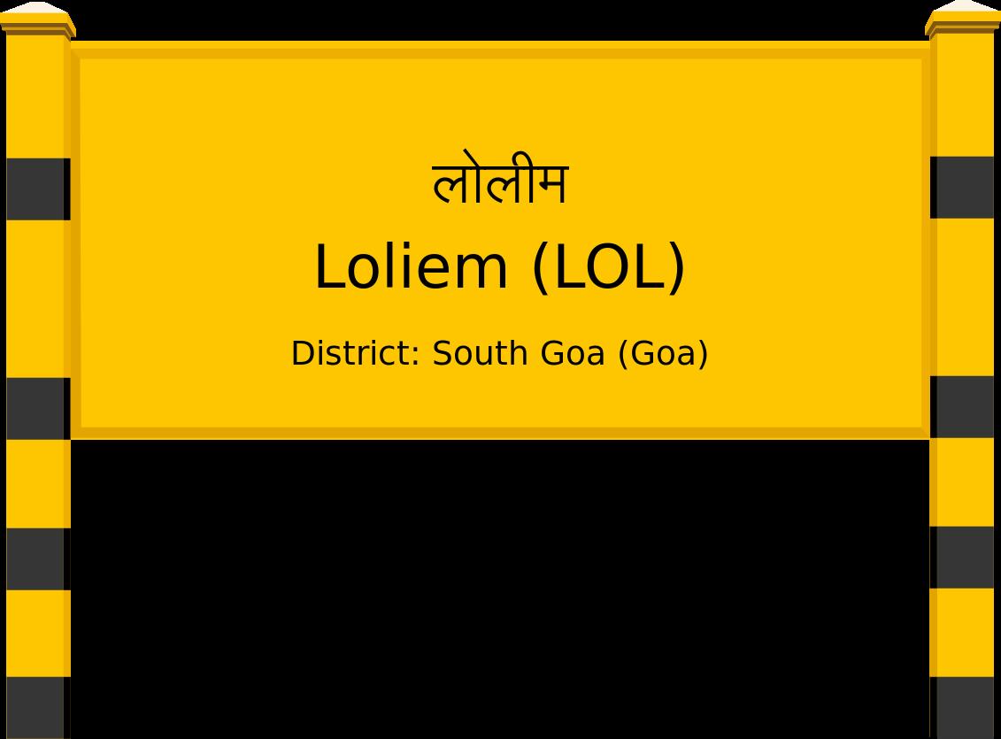 Loliem (LOL) Railway Station