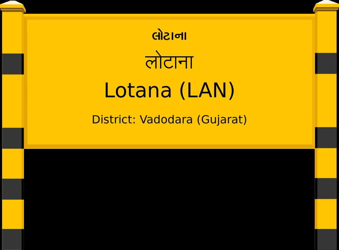 Lotana (LAN) Railway Station