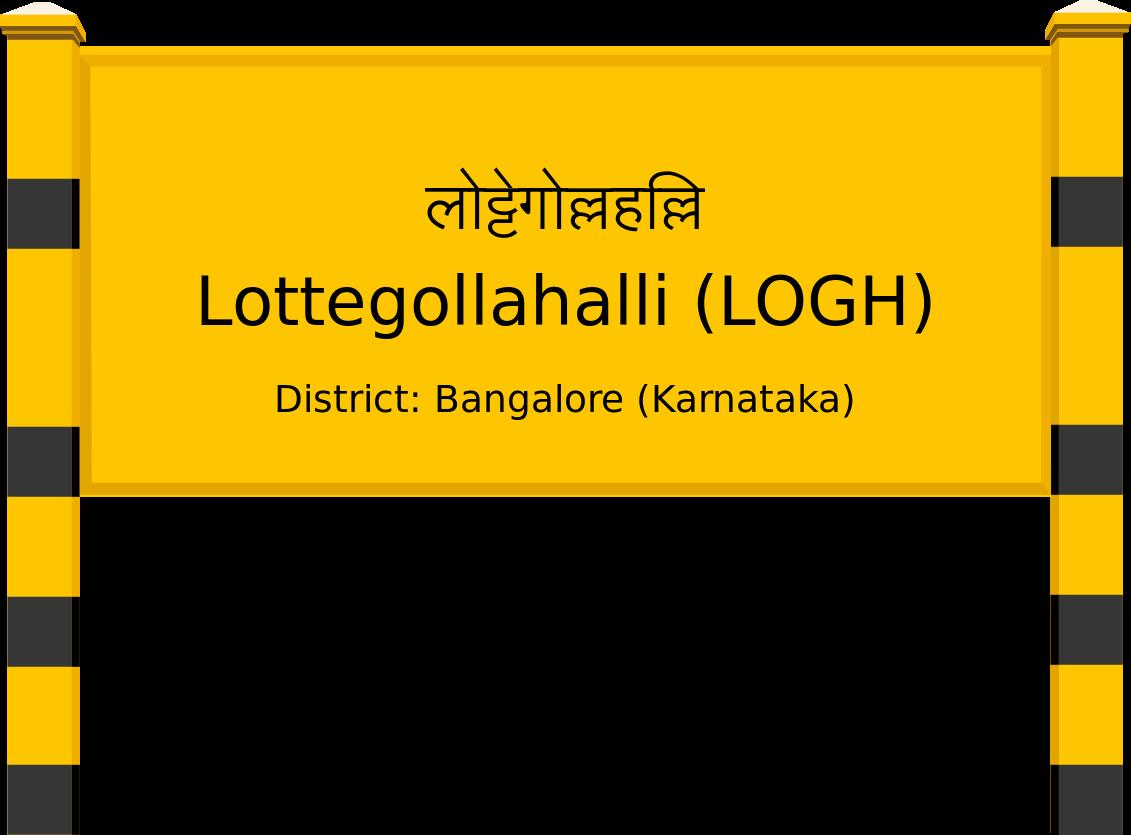 Lottegollahalli (LOGH) Railway Station