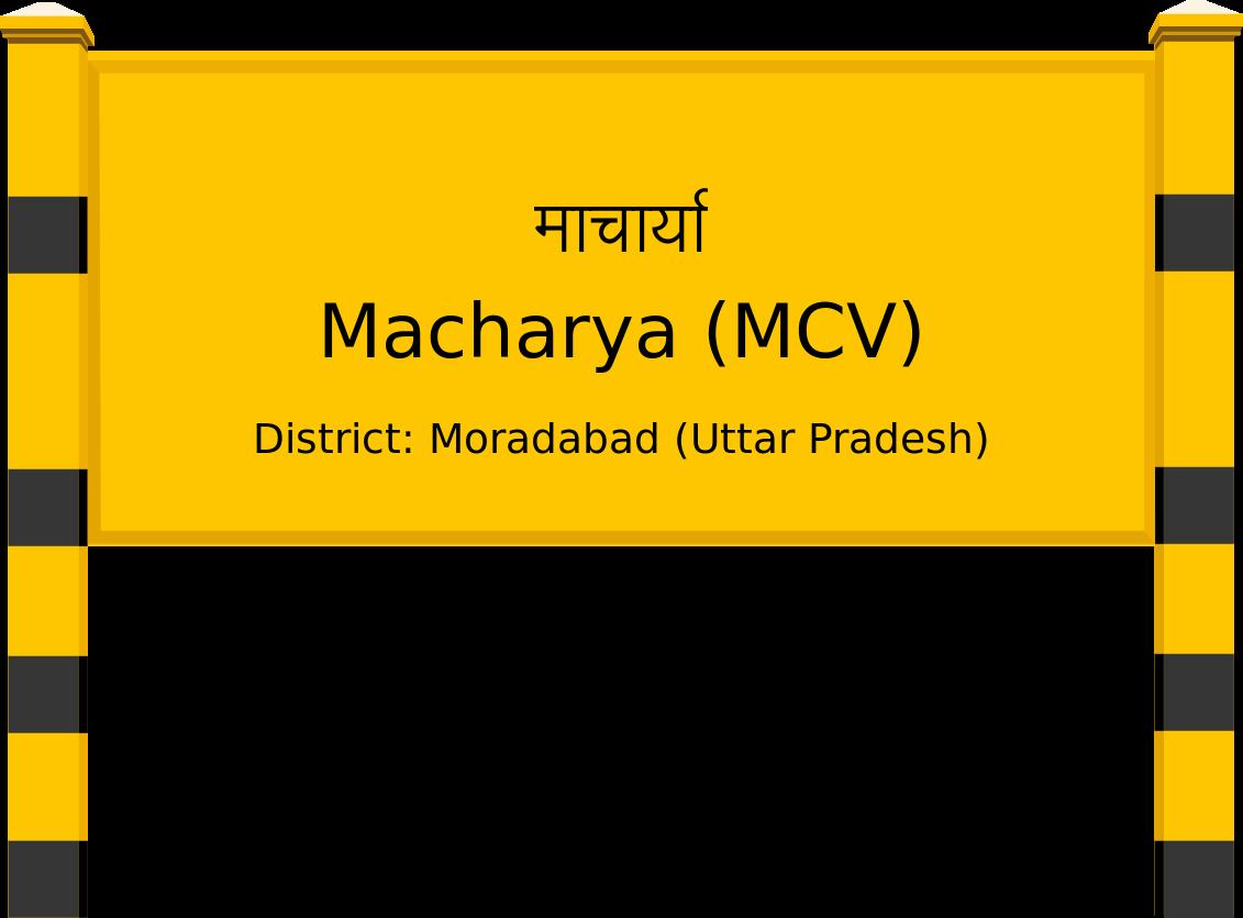 Macharya (MCV) Railway Station