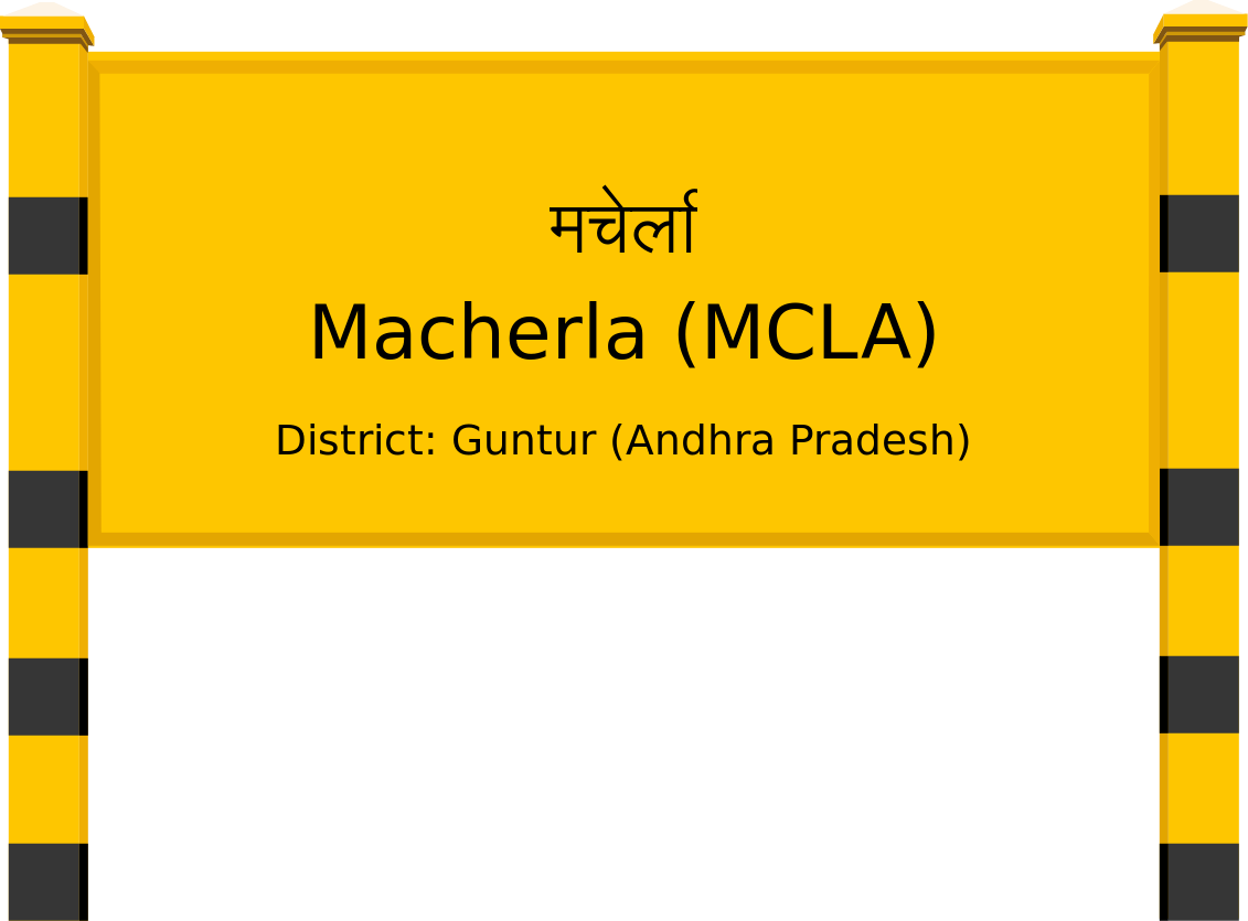 Macherla (MCLA) Railway Station