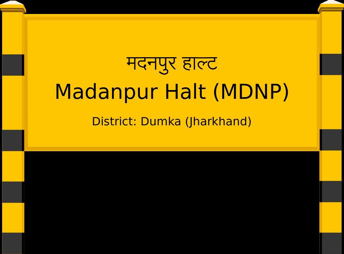 Madanpur Halt (MDNP) Railway Station