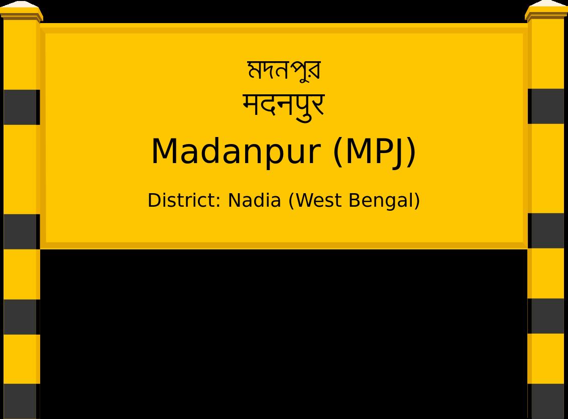 Madanpur (MPJ) Railway Station