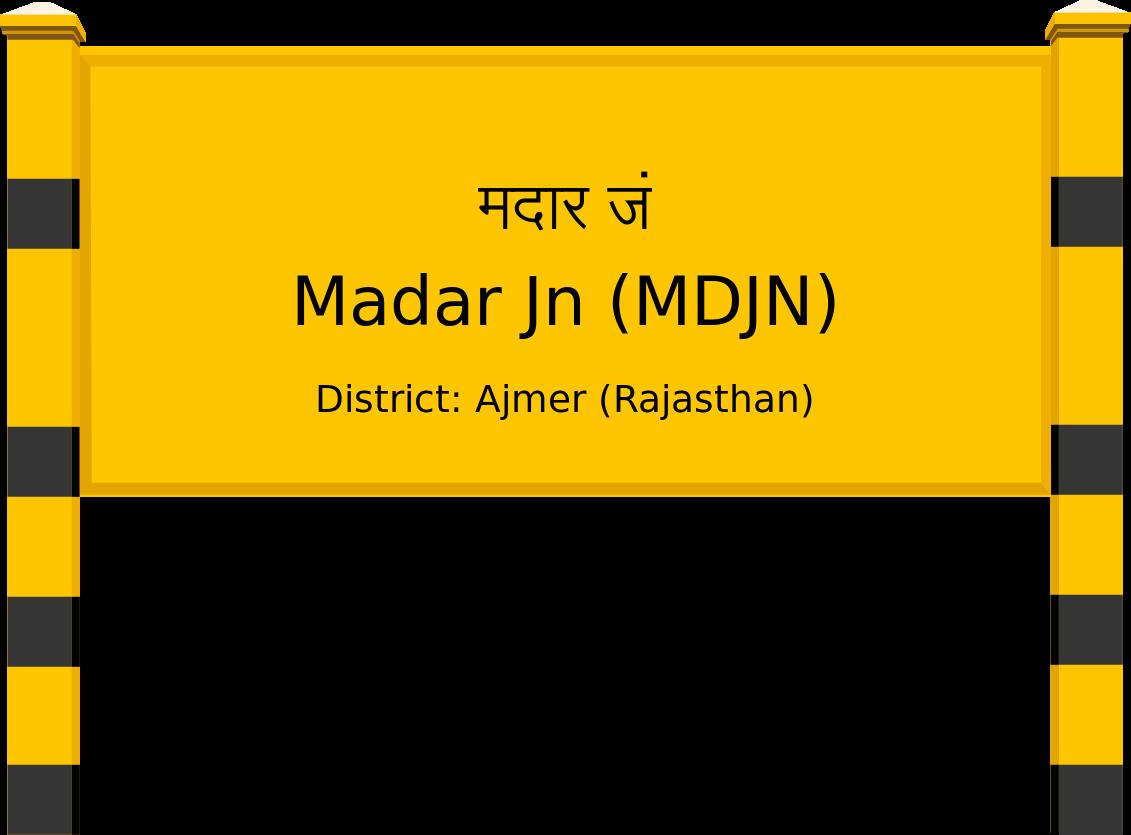 Madar Jn (MDJN) Railway Station