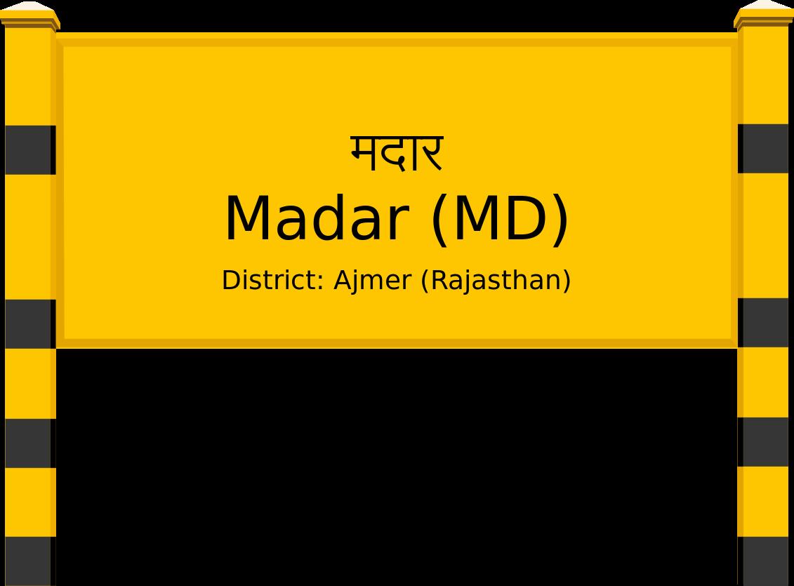 Madar (MD) Railway Station