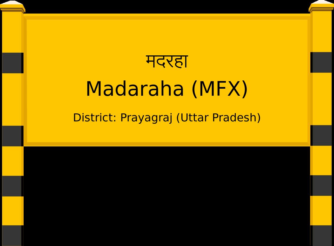 Madaraha (MFX) Railway Station