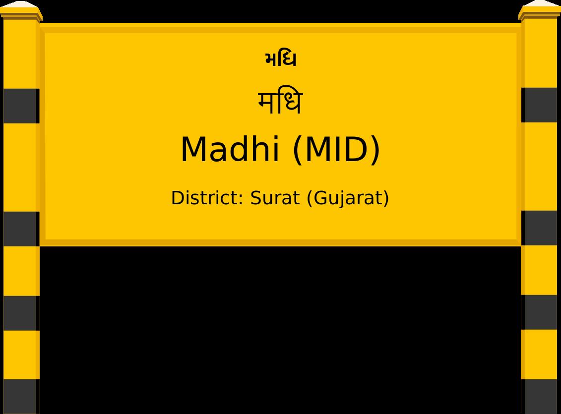 Madhi (MID) Railway Station
