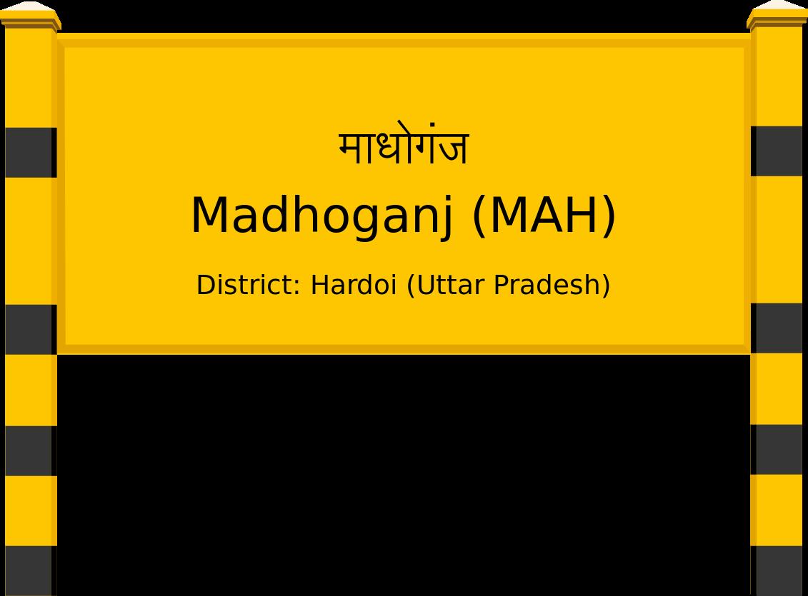 Madhoganj (MAH) Railway Station