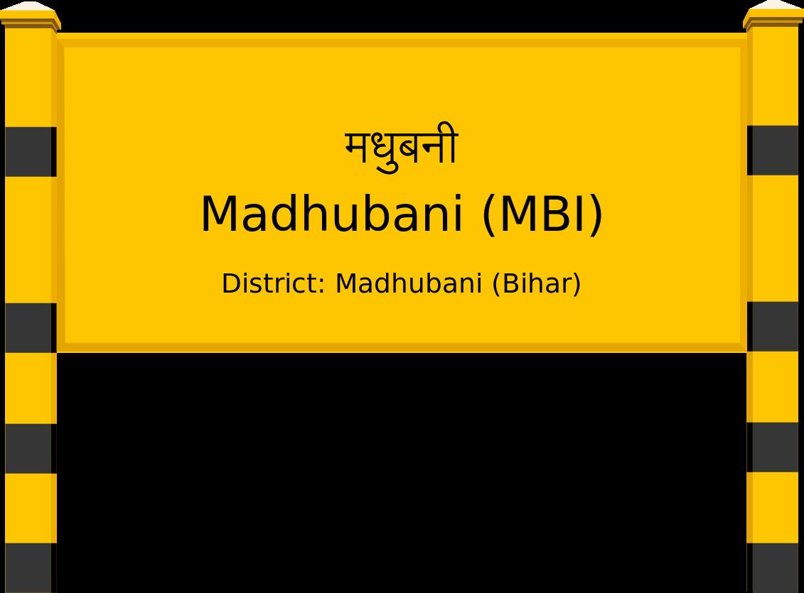 Madhubani (MBI) Railway Station
