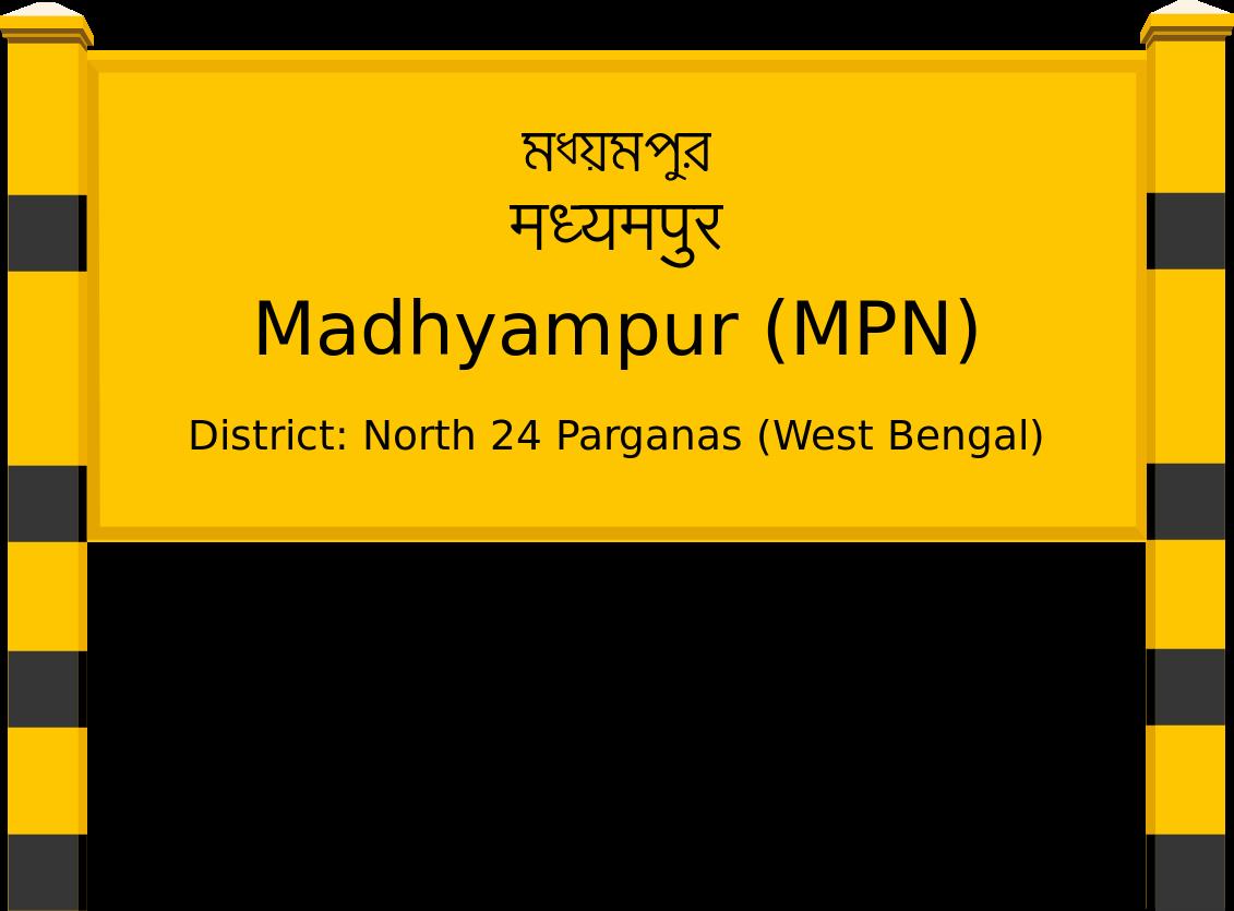 Madhyampur (MPN) Railway Station