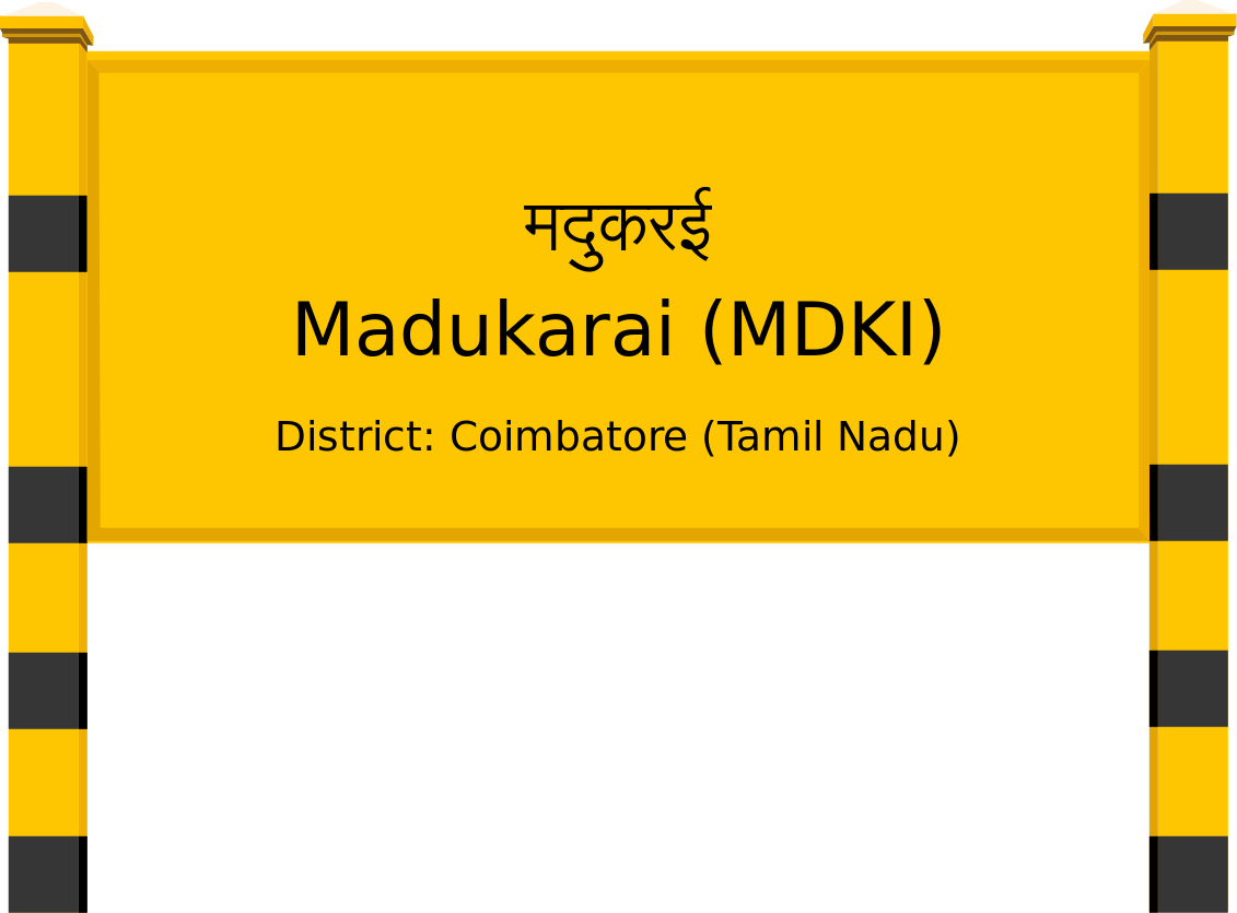 Madukarai (MDKI) Railway Station