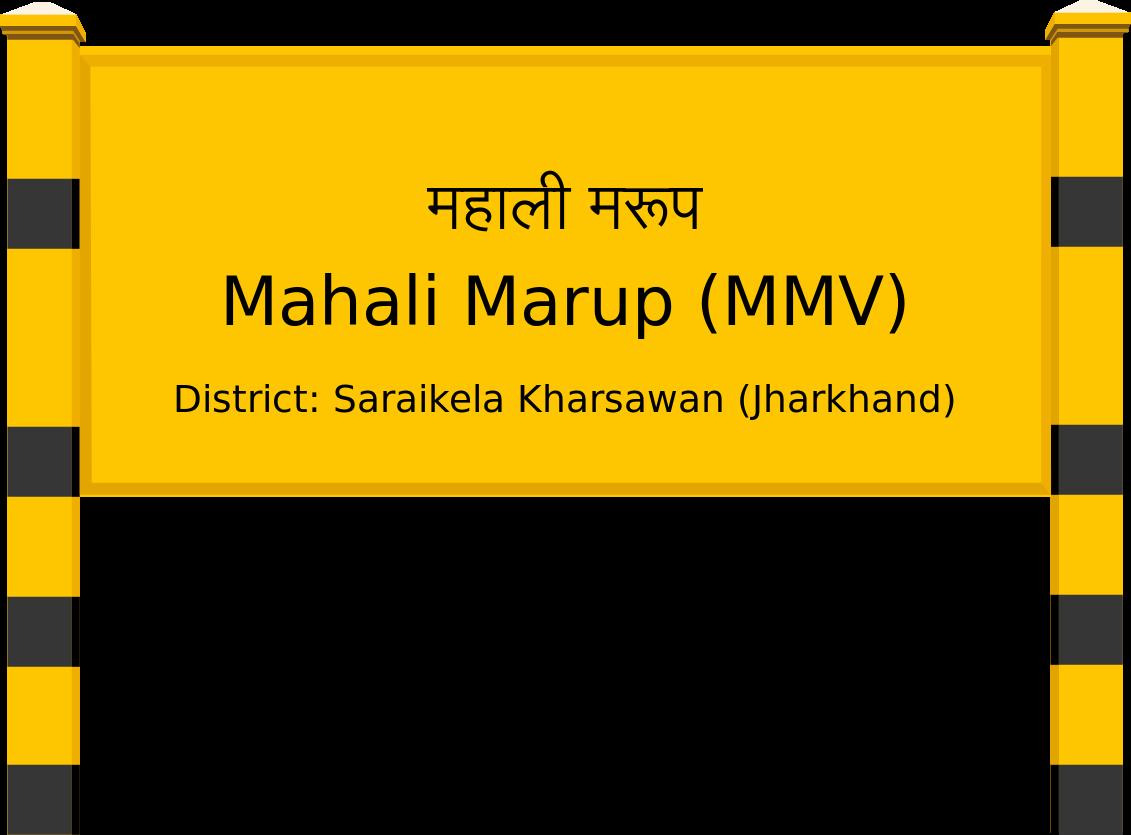 Mahali Marup (MMV) Railway Station