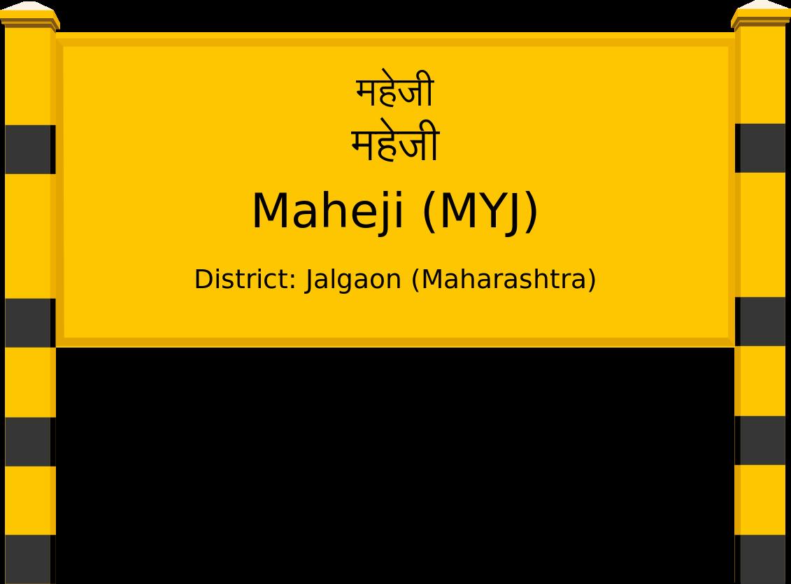 Maheji (MYJ) Railway Station