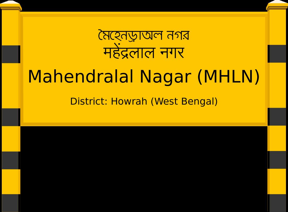 Mahendralal Nagar (MHLN) Railway Station