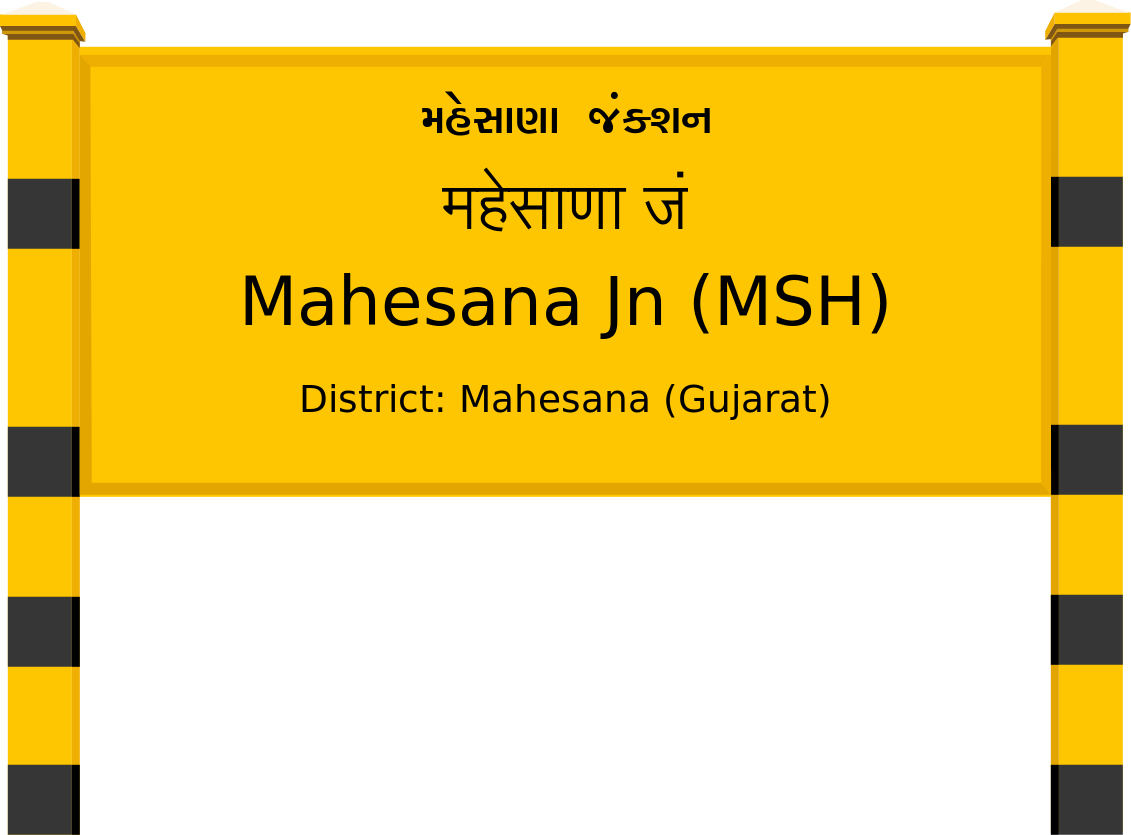 Mahesana Jn (MSH) Railway Station