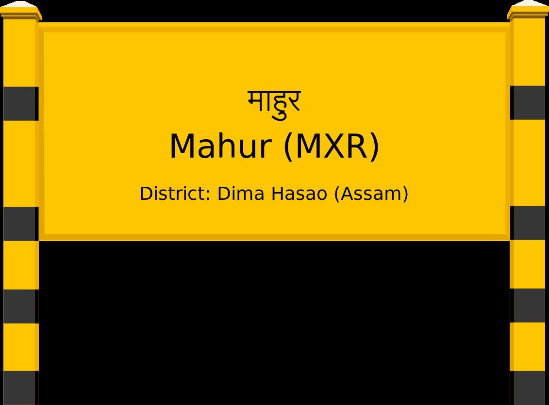Mahur (MXR) Railway Station