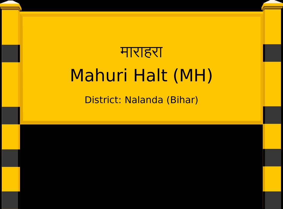 Mahuri Halt (MH) Railway Station