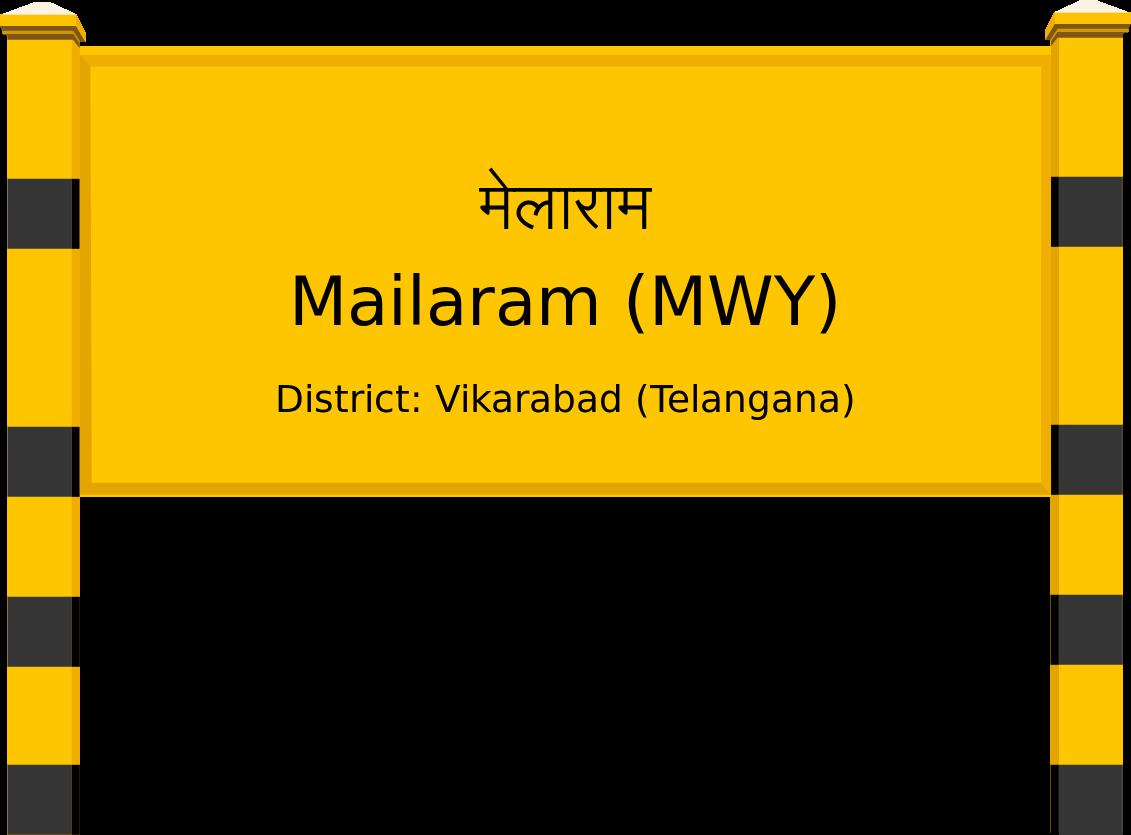 Mailaram (MWY) Railway Station