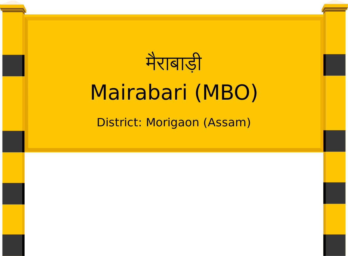 Mairabari (MBO) Railway Station